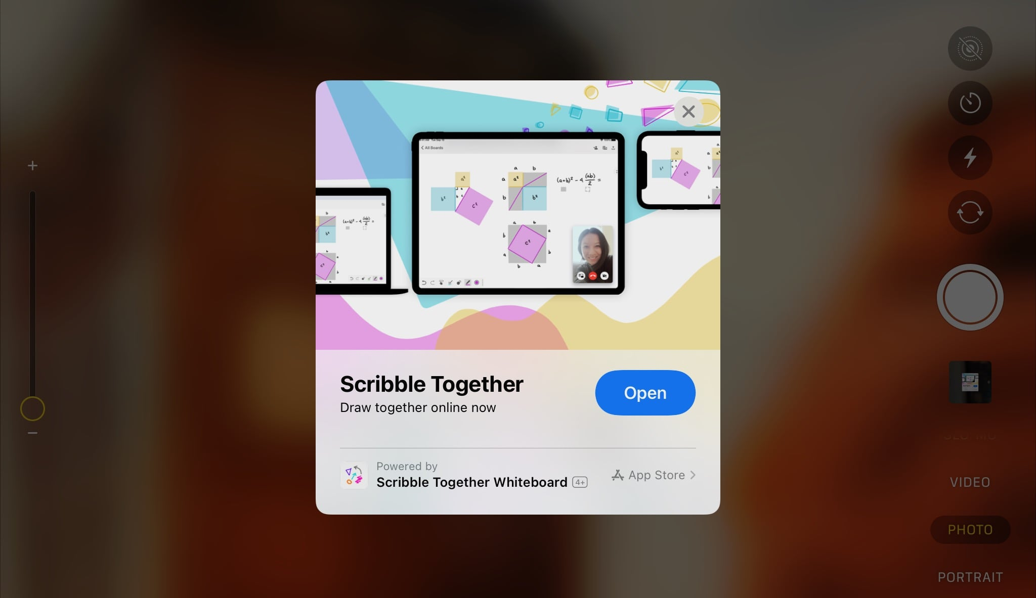 Scribble Together App Clip Card